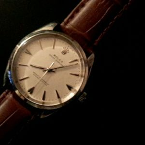 Rolex oyster perpetual watch.